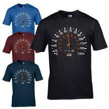 Speedometer 1955 65th Birthday T-Shirt - Funny Feels Age Year Present Mens Gift